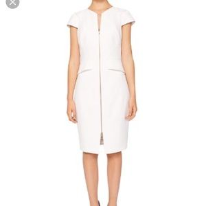 Ted Baker Fearnid Zip Front Dress 2 US 4-6